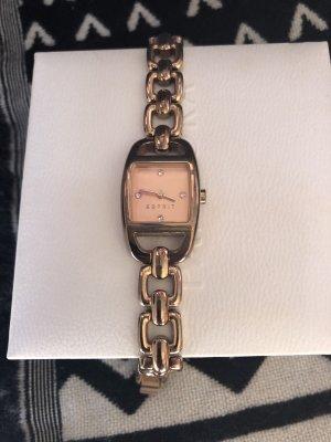 Esprit Montre avec bracelet métallique doré