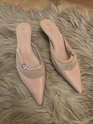Esprit Heel Pantolettes dusky pink