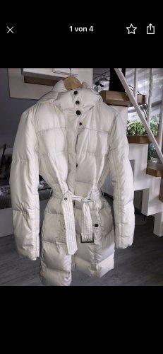 Esprit Manteau en duvet blanc cassé