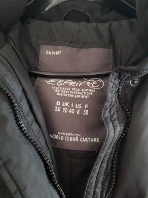 Esprit Manteau en duvet noir