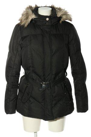 Esprit Daunenjacke schwarz Steppmuster Casual-Look