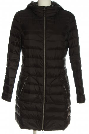 Esprit Down Jacket black quilting pattern casual look