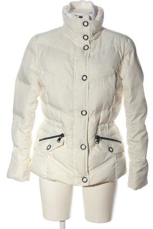 Esprit Chaqueta de plumón blanco estampado acolchado look casual