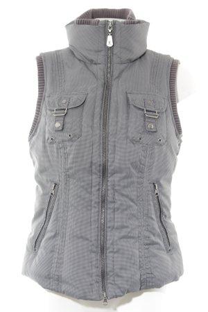 Esprit Daunenjacke graublau-schwarz sportlicher Stil