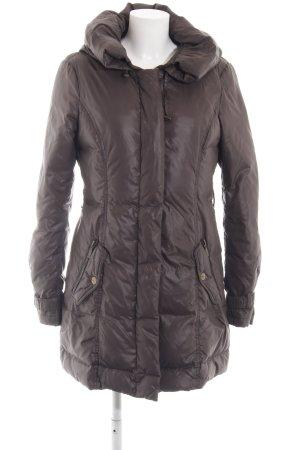 Esprit Manteau en duvet brun style décontracté