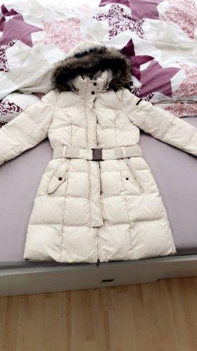 Esprit Manteau en duvet crème