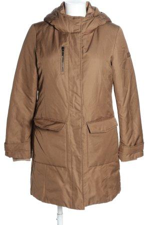 Esprit Płaszcz puchowy brązowy W stylu casual