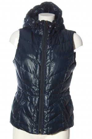 Esprit Down Vest blue quilting pattern casual look