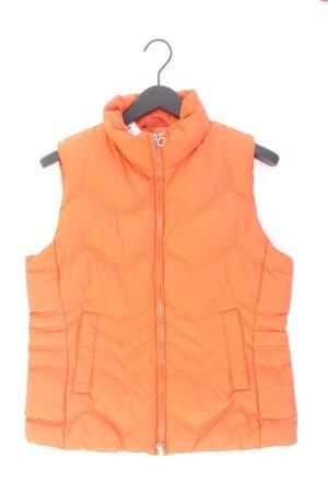 Esprit Daunenweste Größe L orange aus Polyester