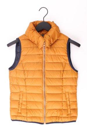 Esprit Daunenweste orange Größe 34