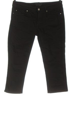Esprit Denim Jeans a 3/4 nero stile casual