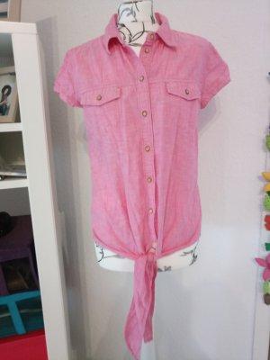 ESPRIT Denim Blusen-Top, pink, Gr. S / 36