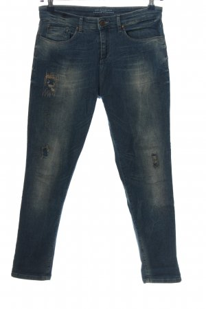 Esprit Denim Boyfriend jeans blauw casual uitstraling