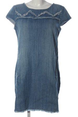 Esprit Denim Jeansjurk blauw casual uitstraling