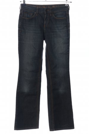 Esprit Denim Jeans flare bleu style décontracté