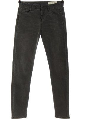 Esprit Denim Slim Jeans hellgrau Casual-Look