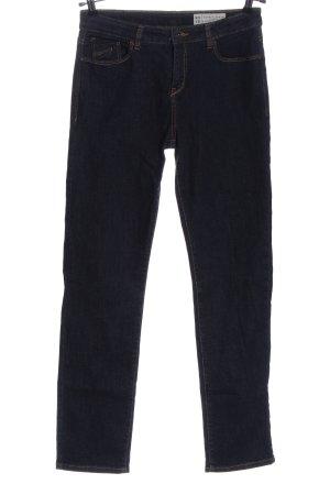 Esprit Denim Straight-Leg Jeans blau Casual-Look