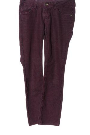 Esprit Denim Straight-Leg Jeans rot Casual-Look
