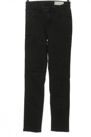 Esprit Denim Straight-Leg Jeans schwarz Casual-Look