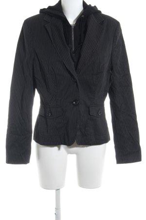 Esprit Podwójna kurtka czarny-biały W stylu biznesowym