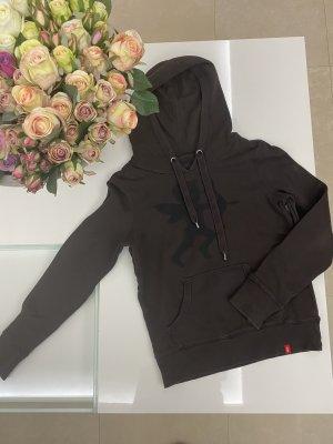 Esprit edc Hoodie Pullover kapuzenpullover in S / 36 braun schwarz