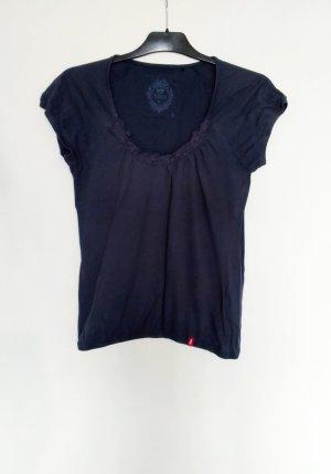 Esprit edc Shirt Häkel Muster