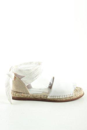 Esprit Espadrillas bianco-crema stile casual