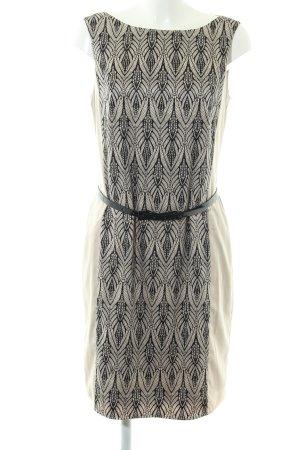 Esprit Robe fourreau blanc cassé motif abstrait style d'affaires