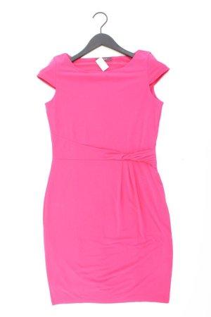 Esprit Etuikleid Größe S Kurzarm pink aus Polyester