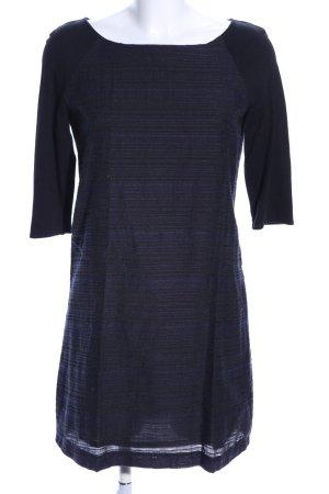 Esprit Sheath Dress black-blue striped pattern casual look