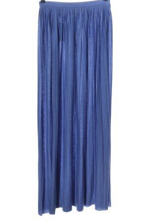 Esprit Plisowana spódnica niebieski Melanżowy W stylu casual