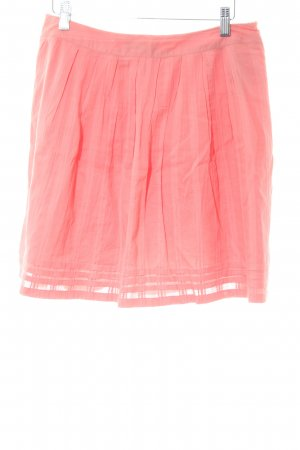 Esprit Faltenrock pink Casual-Look