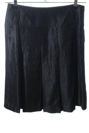 Esprit Faltenrock schwarz meliert Casual-Look