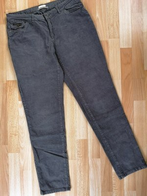 Esprit Pantalón de pana gris Algodón