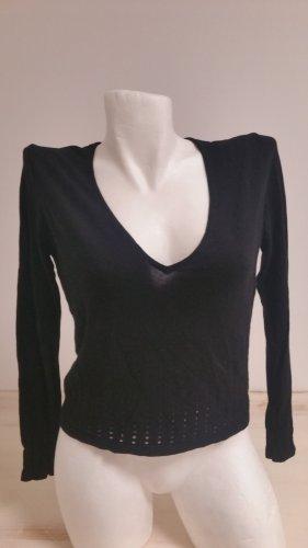 Esprit Feinstrick Pullover schwarz Gr S