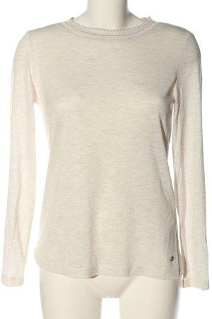 Esprit Fine Knit Jumper cream flecked casual look