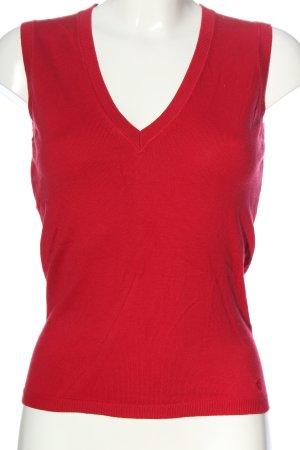 Esprit Fijn gebreide cardigan rood casual uitstraling