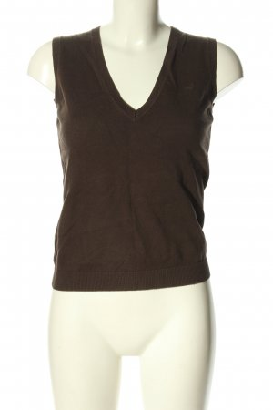 Esprit Fine Knitted Cardigan brown casual look