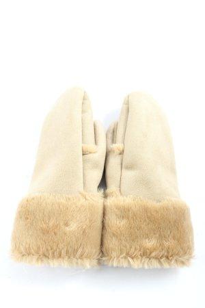 Esprit Bont handschoenen bruin casual uitstraling