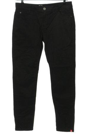 Esprit Spodnie z pięcioma kieszeniami czarny W stylu casual
