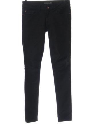 Esprit Pantalón de cinco bolsillos negro look casual