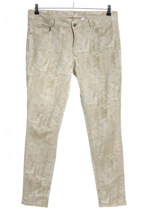 Esprit Five-Pocket-Hose goldfarben-silberfarben Casual-Look