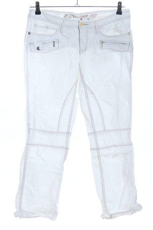 Esprit Spodnie z pięcioma kieszeniami jasnoszary W stylu casual