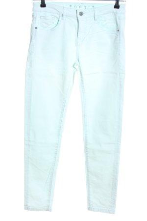 Esprit Pantalon cinq poches turquoise style décontracté