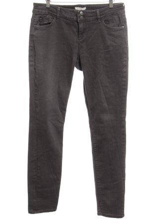 Esprit Five-Pocket-Hose dunkelgrau Jeans-Optik