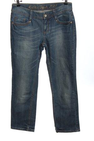 Esprit Spodnie z pięcioma kieszeniami niebieski W stylu casual