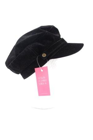 Esprit Flat Cap black casual look