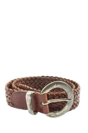 Esprit Cinturón trenzado marrón elegante