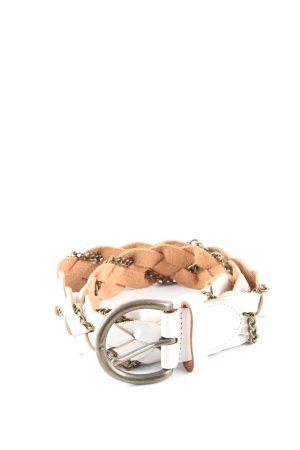 Esprit Braided Belt white-nude casual look