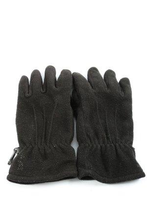 Esprit Guanto in pile nero stile casual